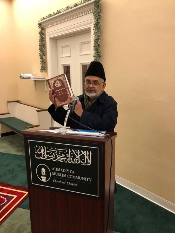 USA Ahmadiyya Mosque in Bedford hosts guests from Ghana & Sudan - Discuss life & teachings of Prophet Muhammad (pbuh) (1)