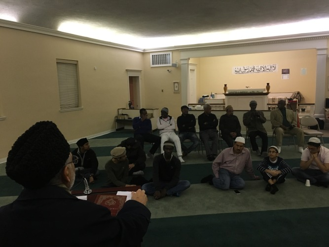 USA Ahmadiyya Mosque in Bedford hosts guests from Ghana & Sudan - Discuss life & teachings of Prophet Muhammad (pbuh) (3)