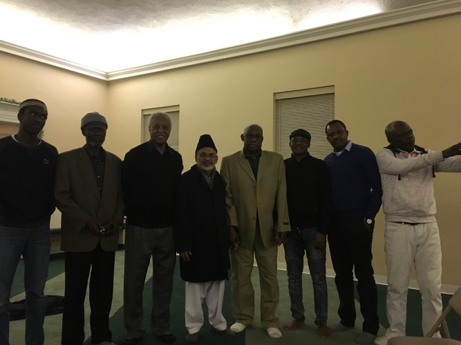 USA Ahmadiyya Mosque in Bedford hosts guests from Ghana & Sudan - Discuss life & teachings of Prophet Muhammad (pbuh) (4)