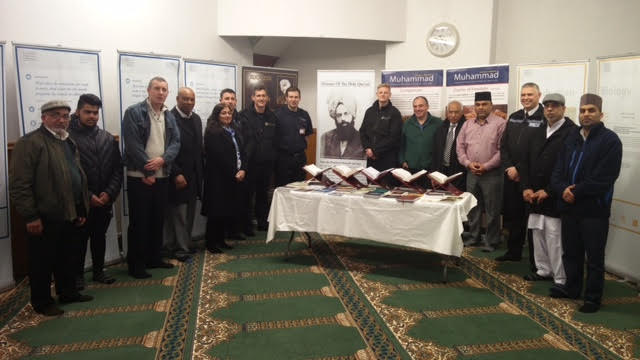 Ahmadiyya Muslim Community Huddersfield South's Open Day at Baitus Samad Mosque1