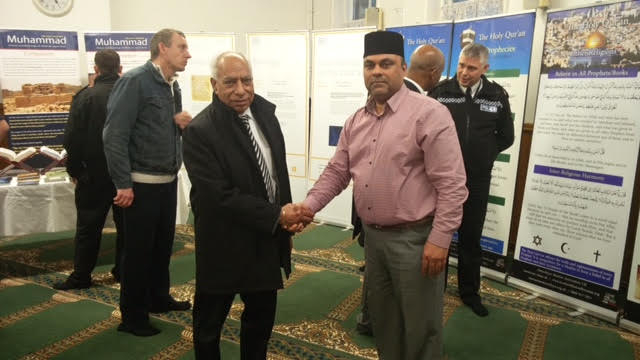 Ahmadiyya Muslim Community Huddersfield South's Open Day at Baitus Samad Mosque10