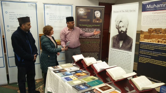Ahmadiyya Muslim Community Huddersfield South's Open Day at Baitus Samad Mosque11