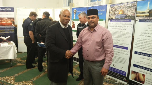 Ahmadiyya Muslim Community Huddersfield South's Open Day at Baitus Samad Mosque13