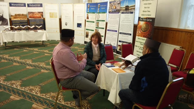 Ahmadiyya Muslim Community Huddersfield South's Open Day at Baitus Samad Mosque14