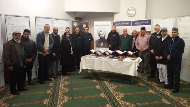 Ahmadiyya Muslim Community Huddersfield South's Open Day at Baitus Samad Mosque2