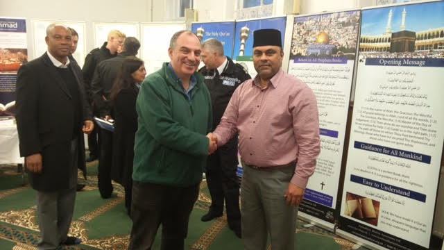 Ahmadiyya Muslim Community Huddersfield South's Open Day at Baitus Samad Mosque3