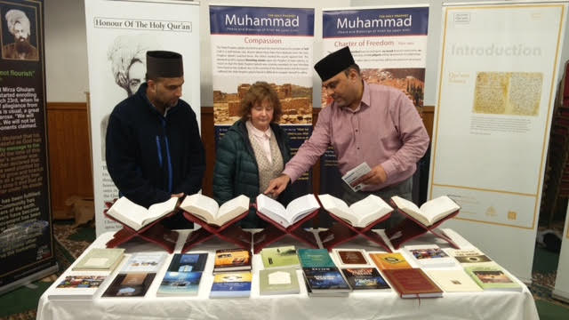 Ahmadiyya Muslim Community Huddersfield South's Open Day at Baitus Samad Mosque4