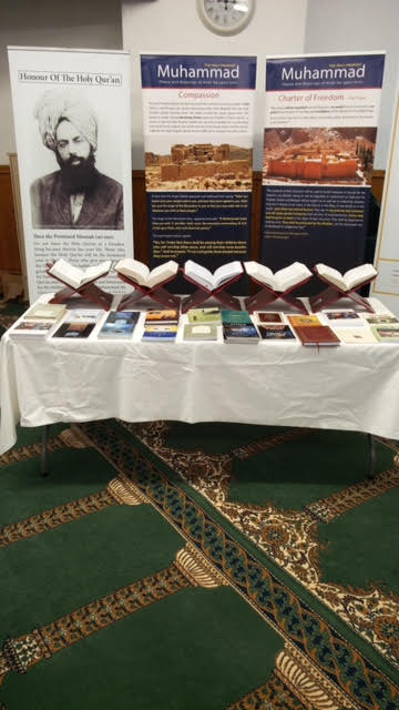 Ahmadiyya Muslim Community Huddersfield South's Open Day at Baitus Samad Mosque7