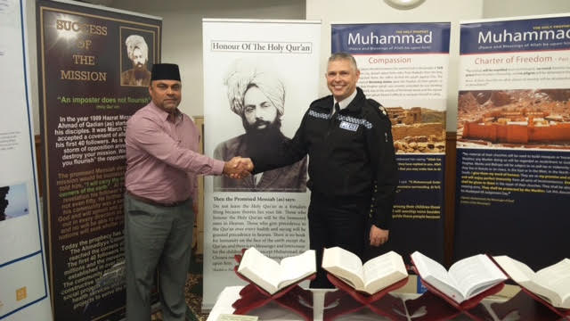 Ahmadiyya Muslim Community Huddersfield South's Open Day at Baitus Samad Mosque8