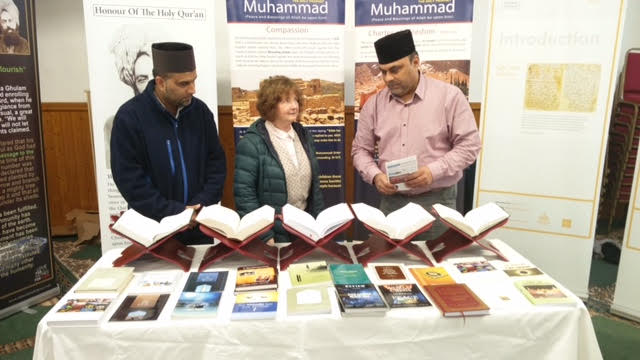 Ahmadiyya Muslim Community Huddersfield South's Open Day at Baitus Samad Mosque9