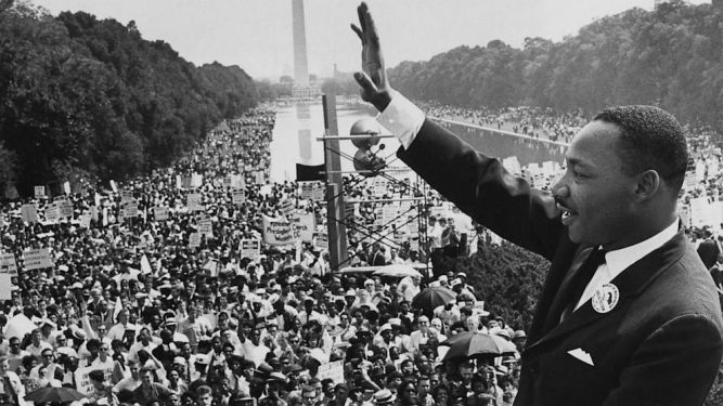 martin luther day of the I have a dream