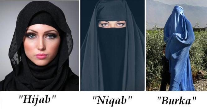 Hijab versus veil