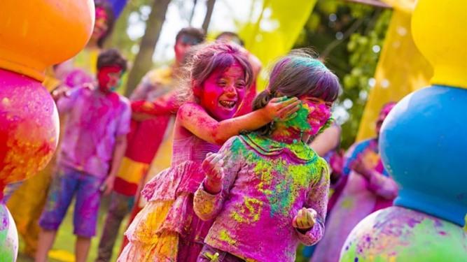 Image result for holi celebration