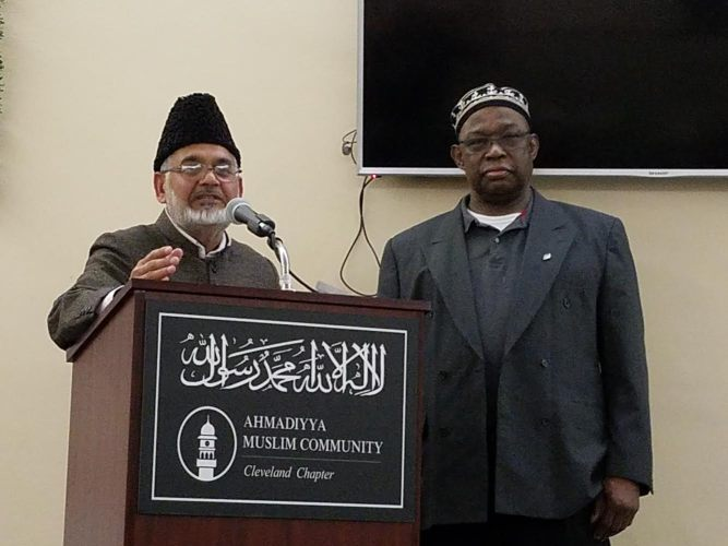 """Contribution of Islam Ahmadiyyat to African Development"" Program hosted at Baitul Ahad Mosque in Cleveland"