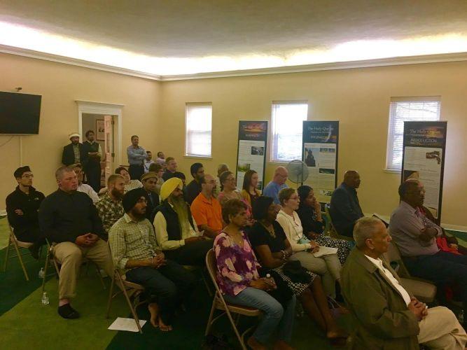 Audience at the Interfaith Symposium hosted by the Ahmadiyya Muslim Community