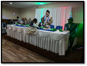 Imam Shamshad Nasir introduces the Ahmadiyya Muslim Community at Independence Day Celebration of Sierra Leone