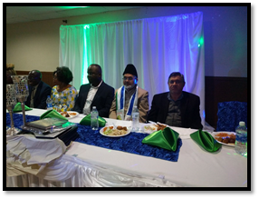 Imam Shamshad Nasir introduces the Ahmadiyya Muslim Community at Independence Day Celebration of Sierra Leone 3