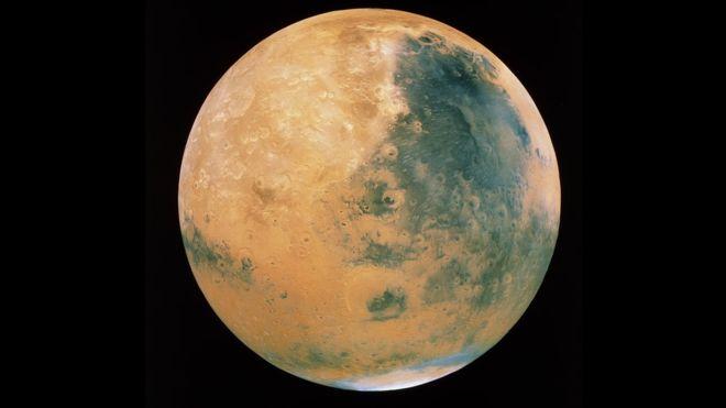 Mars is green