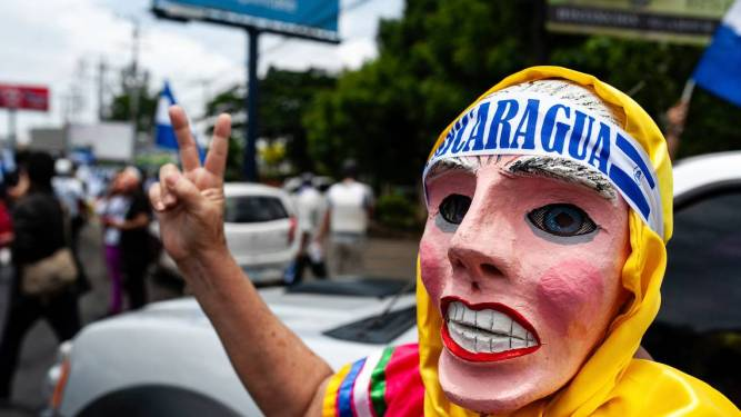 Nicaragua Unrest (2)