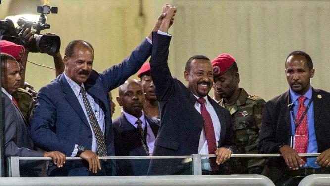 Ethiopia Eritrea New Friends