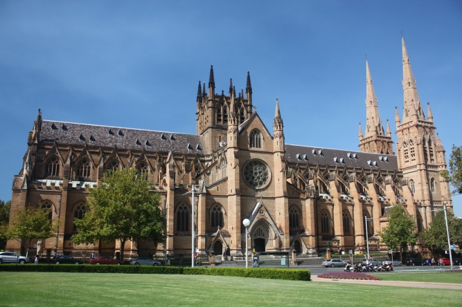St-Marys-Cathedral-Sidney