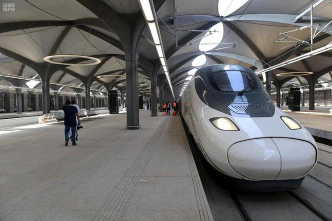 High speed railway in Mecca
