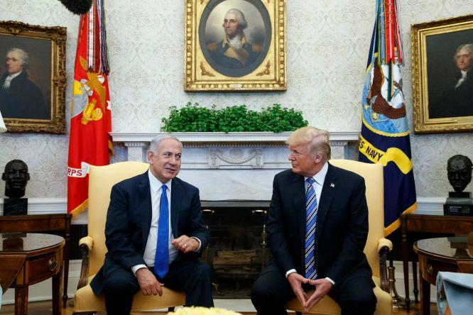Trump and Netan