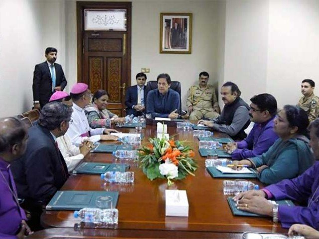 Imran in a meeting