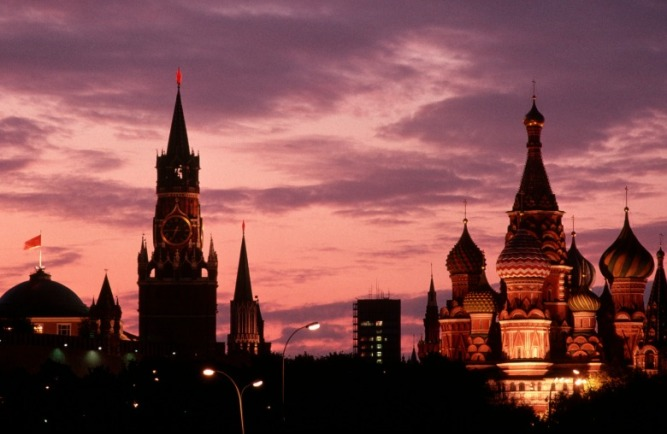 St Bail Cathedral and red square
