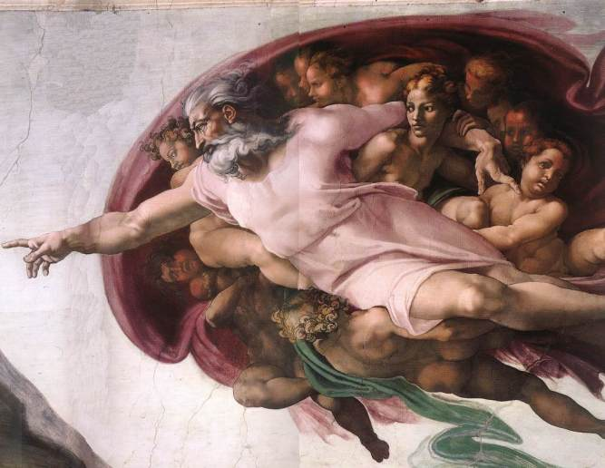 god-sistine-chapel1 michael angelo