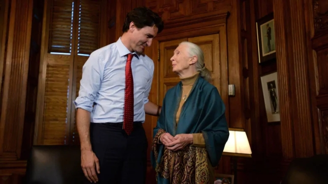 trudeau-and-jane-goodall