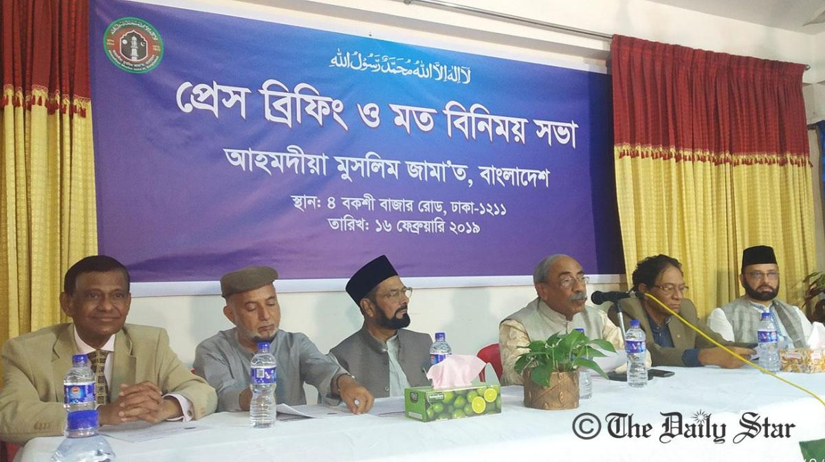 'Punish attackers of Ahmadiyyas' Demand eminent citizens in Bangladesh