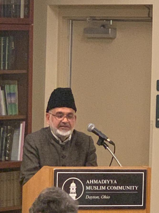 Imam Shamshad Nasir of the Ahmadiyya Muslim Community