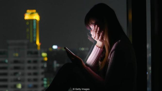 woman feel depression