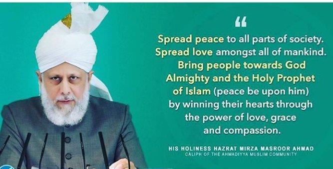 Khalifa of Islam His Holiness Mirza Masroor Ahmad (aba)