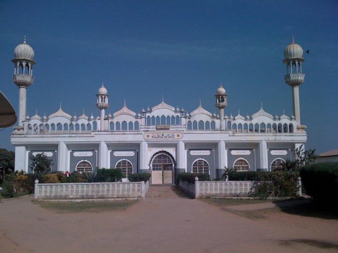 Bait-us-salam Mosque in Talingding, Gambia