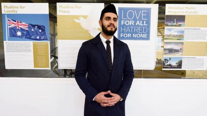 Imam Tahir, of the Ahmadiyya Muslim Community in Cockburn