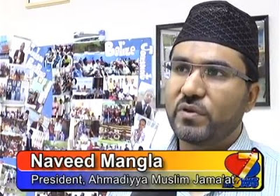 Naveed Mangla, President, Ahmadiyya Muslim Community, Belize
