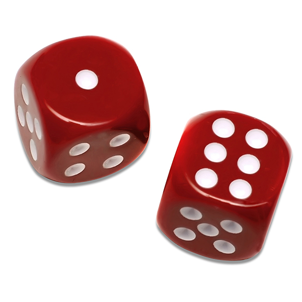 Solid-Red-Dice-set-of-2