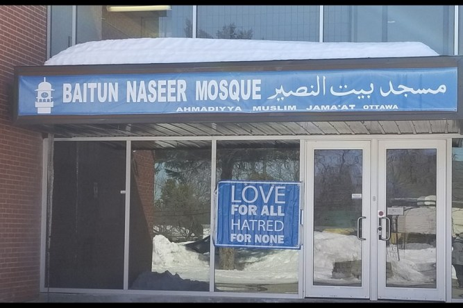 Visit a Mosque' campaign launch at Baitun Naseer Mosque in Cumberland. Jenn Pritchard OttawaMatters