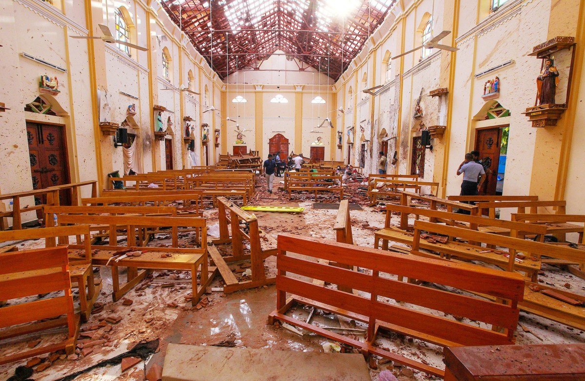 Sri Lanka Ahmadiyya Muslim Community Condemns multiple terrorist attacks