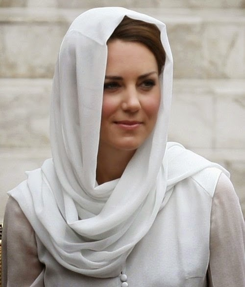Hijab Kate Middleton