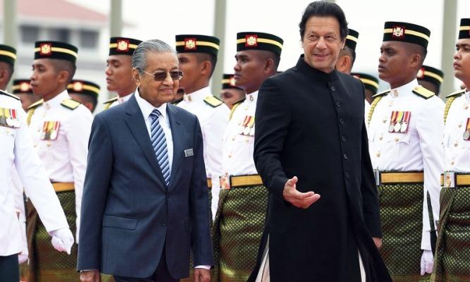 Imran Khan and Mahathir Muhammad