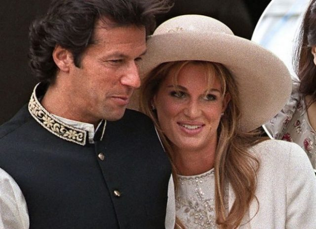 Jemima Khan and Imran Khan