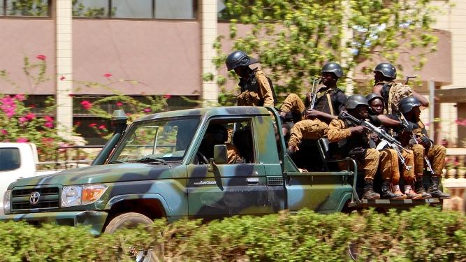 APTOPIX Burkina Faso Attack