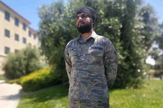 sikh American airforce