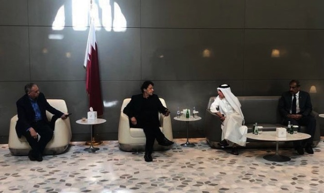 Qatar and Imran Khan