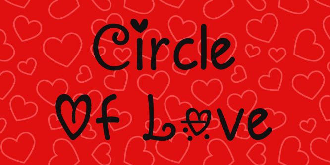 circle-of-love-font-5-big