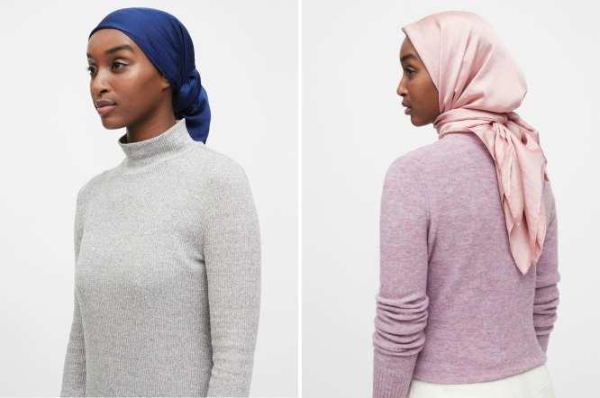 hijab banana republic