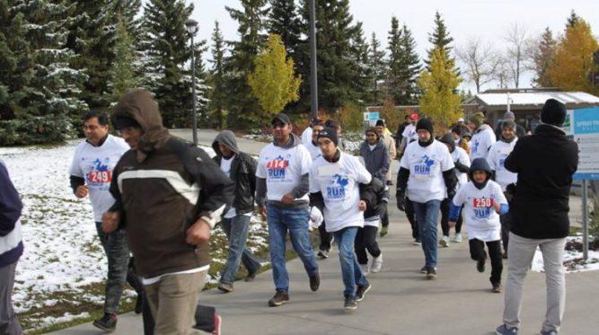 Ahmadiyya Muslim Community organizes charity run for Lloydminster